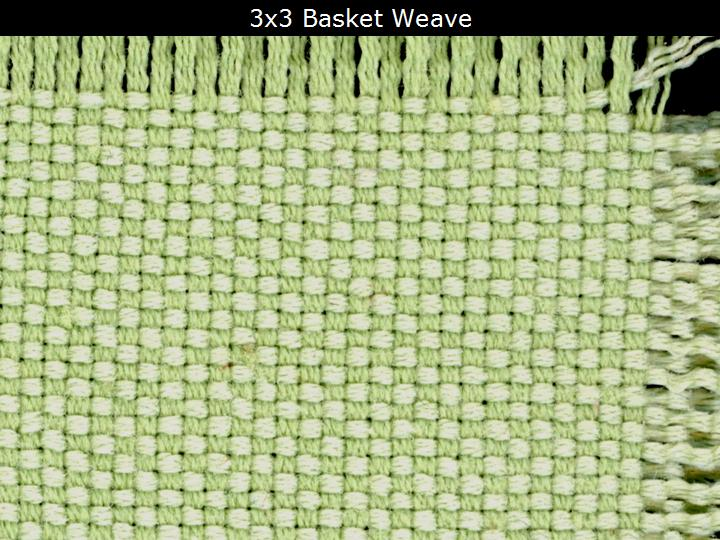 How To Basket Weave Tulle : Itextiles plain